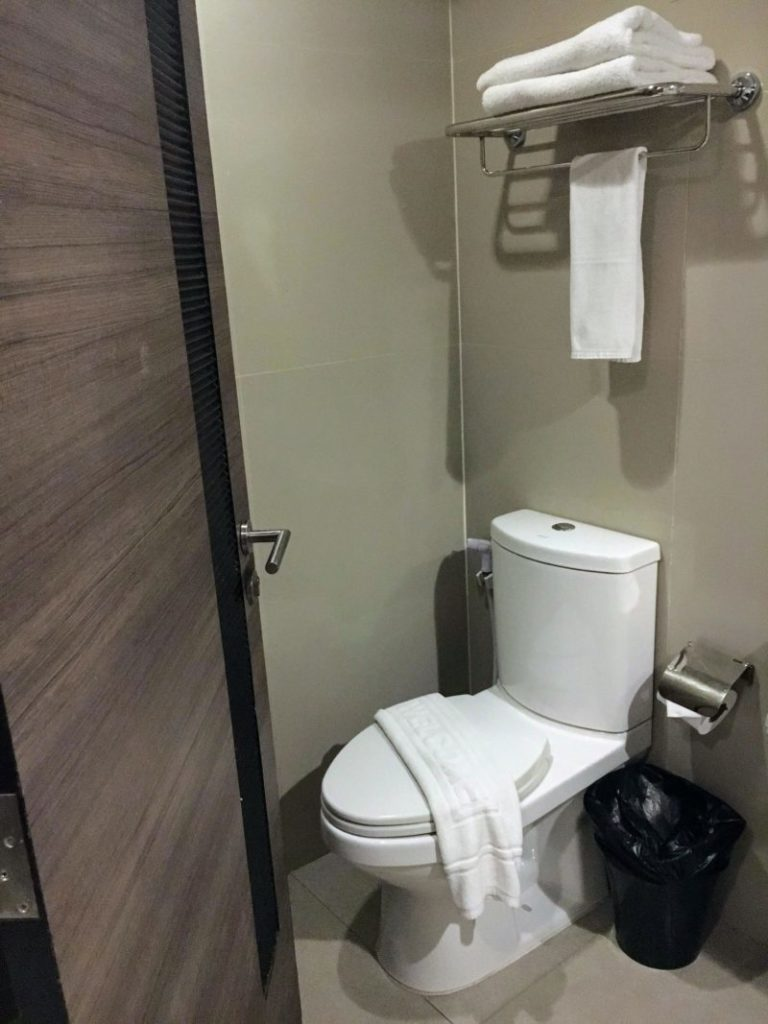 アイチェック イン レジデンシーズ スクンビット 20のトイレ