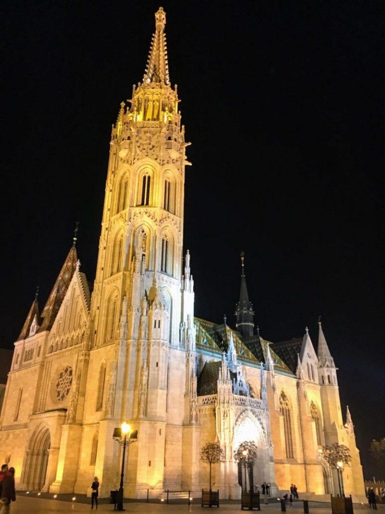 ブダペストのマーチャーシュ聖堂