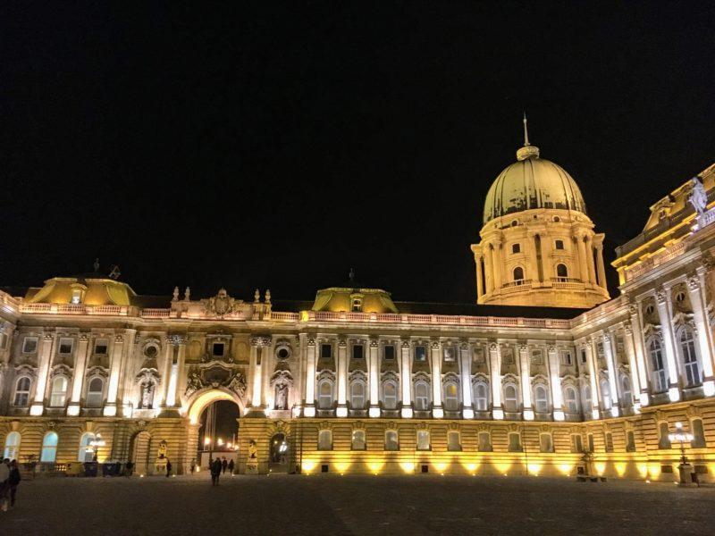 ブダペストのブダ城