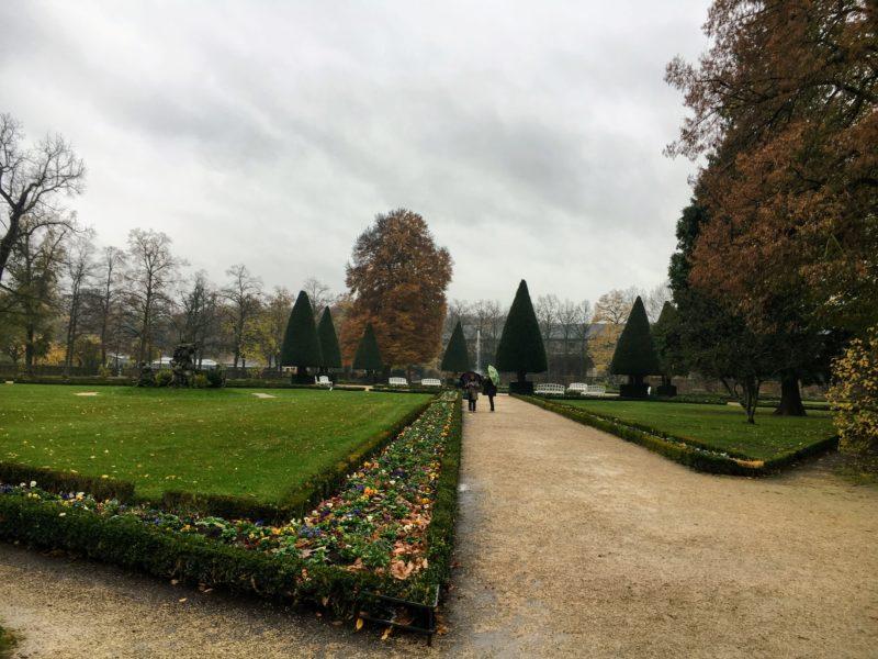 ヴュルツブルクのレジデンツ庭園
