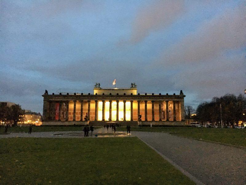 ベルリンの旧博物館