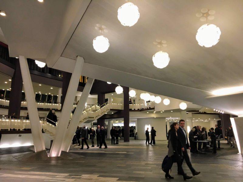 ベルリンフィルハーモニーのホール内部