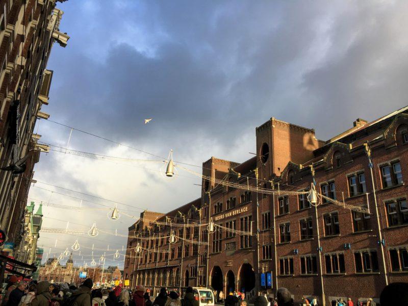 アムステルダムの旧証券取引所