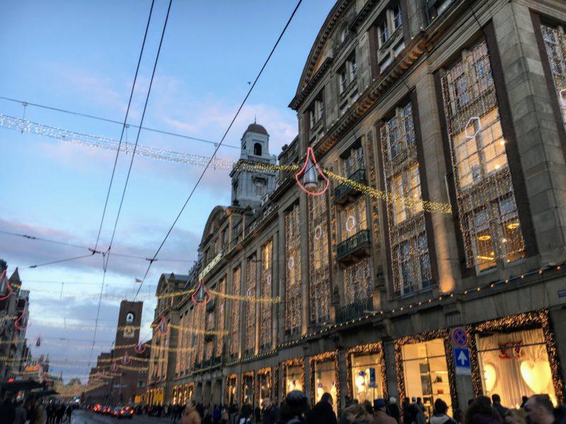 アムステルダムのクリスマス飾り
