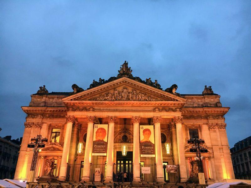 旧ブリュッセル証券取引所