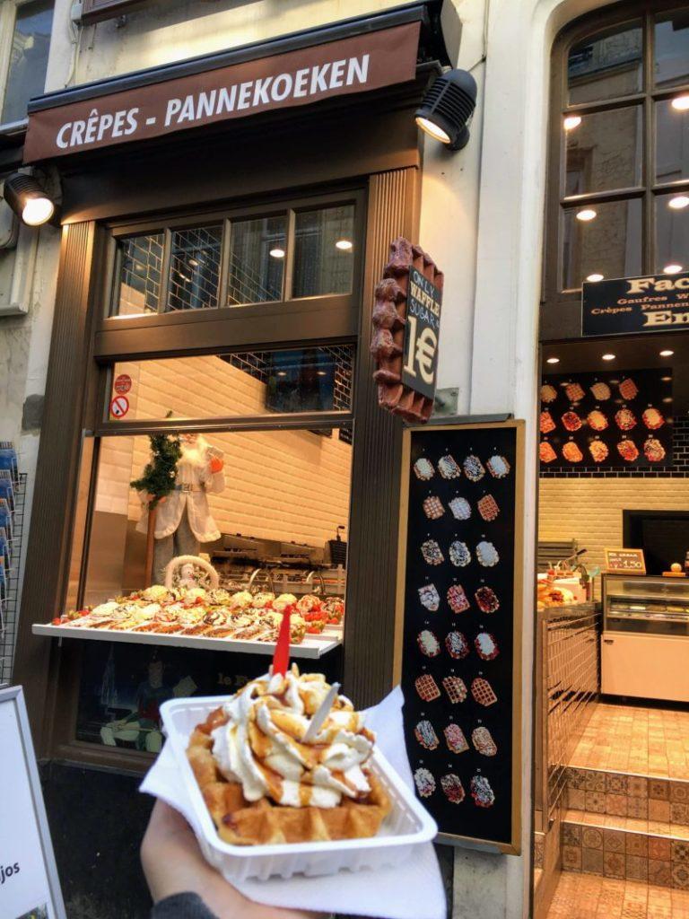 ベルギーワッフル(waffle)のお店
