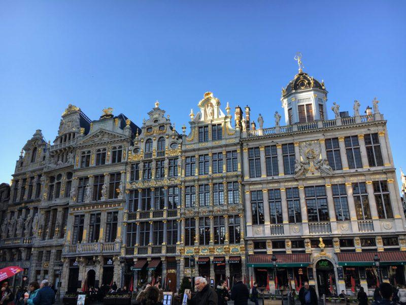 ベルギーのグランプラス