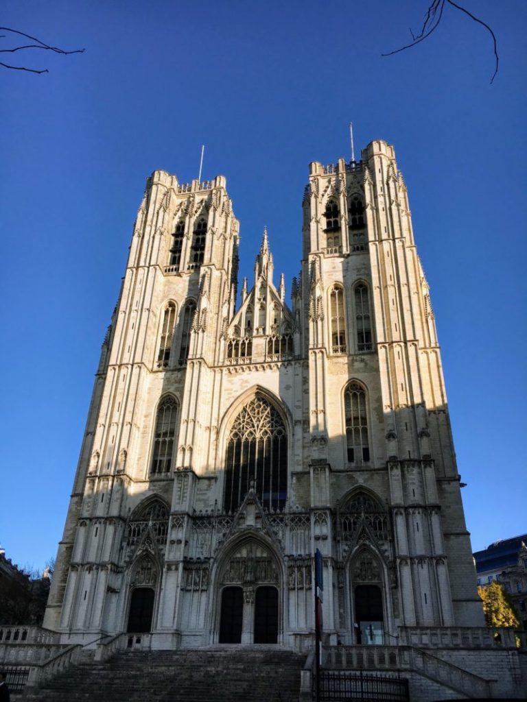 ベルギーのサン・ミッシェル大聖堂