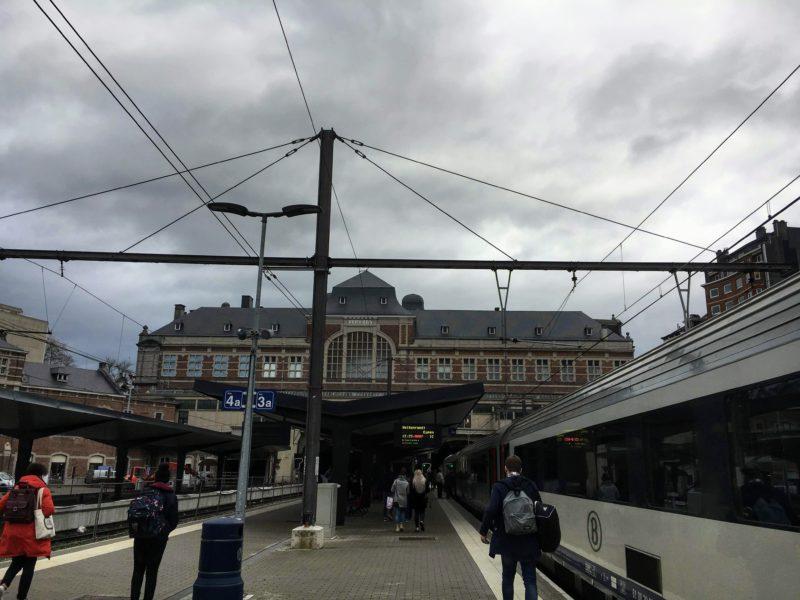 ベルギーのヴェルヴィエ駅