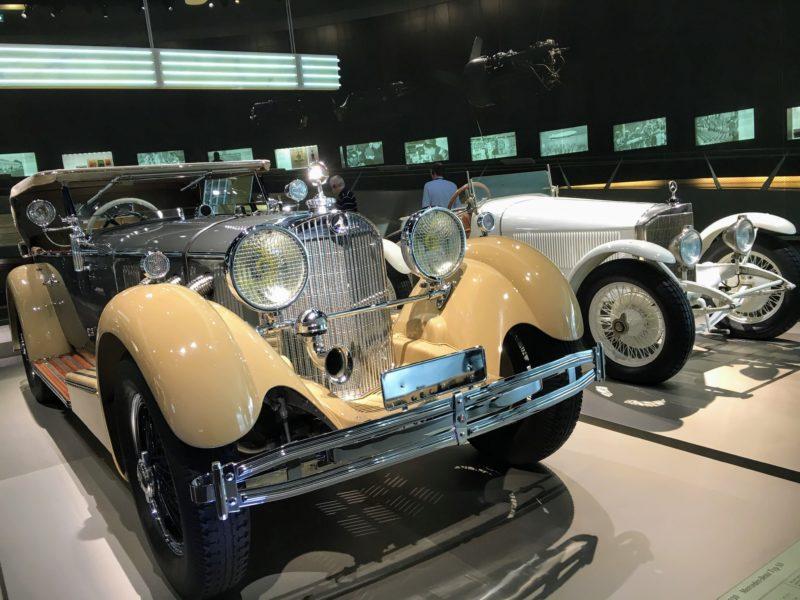 メルセデスベンツ博物館内部にあるコレクション