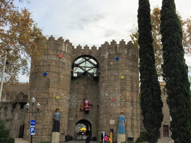 バルセロナのスペイン村