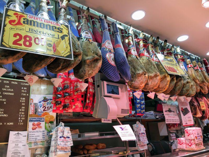サン・ミゲル市場イベリコ豚屋さん