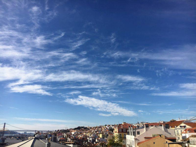 リスボンのサンタカタリーナからの景色