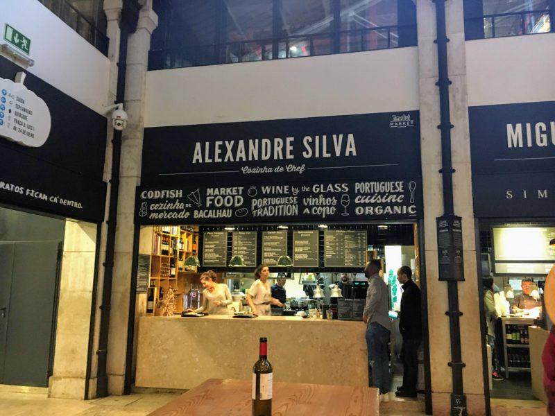 リベイラ市場の中のお店