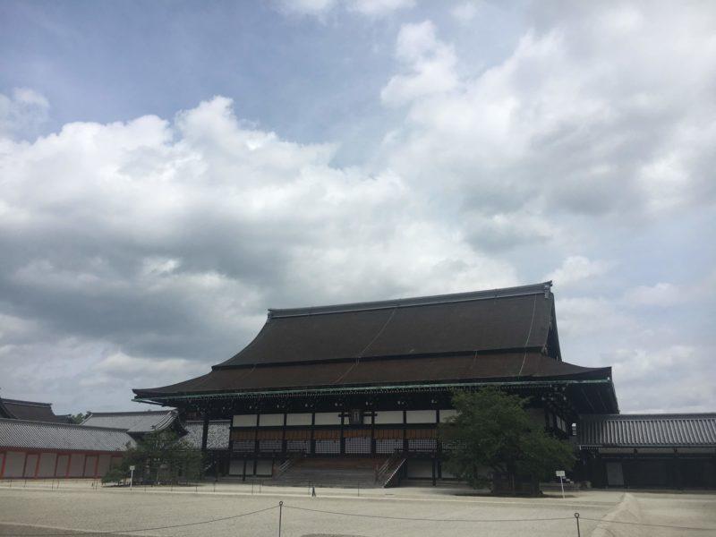 京都御所の清涼殿