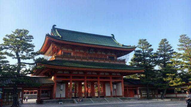 平安神宮の応天門