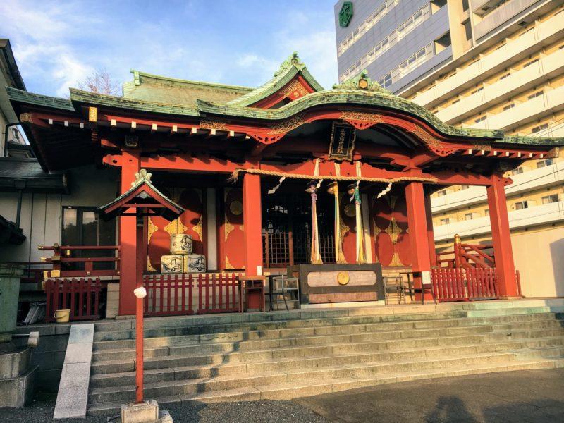 穴守稲荷神社の本殿