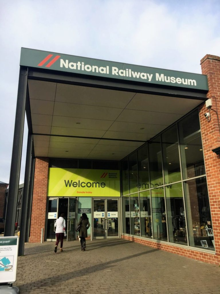 イギリス国立鉄道博物館入り口
