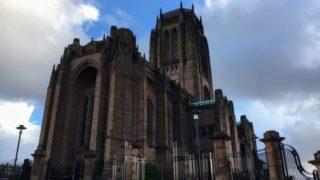 リヴァプール大聖堂正面
