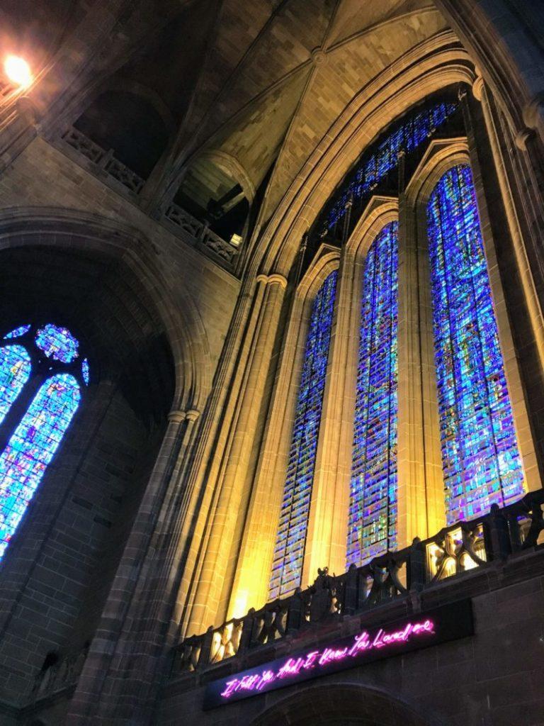 リヴァプール大聖堂ステンドガラス