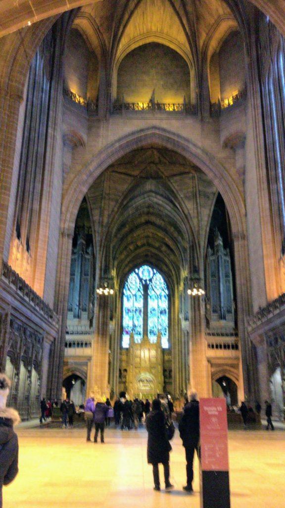 リヴァプール大聖堂礼拝堂