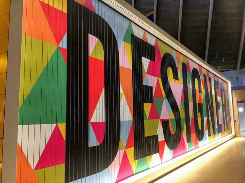デザイン・ミュージアム内のオブジェ