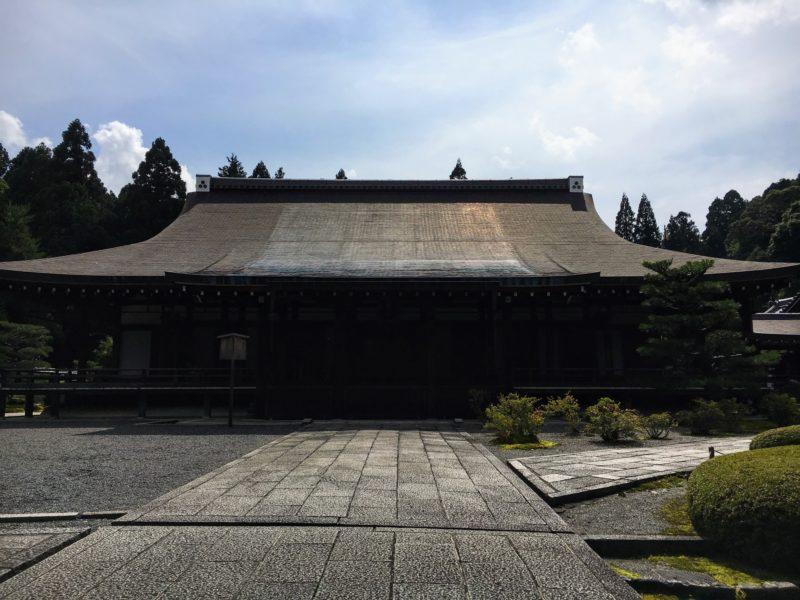 西芳寺 苔寺の御堂