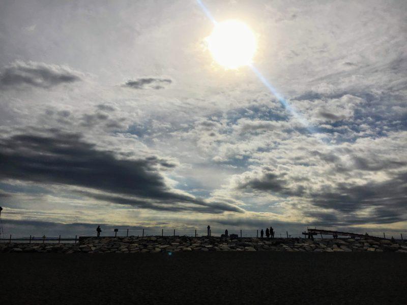 都立城南島海浜公園の飛行機写真撮影スポット