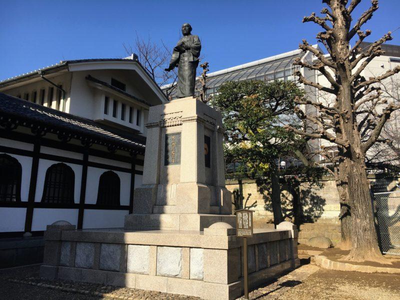 大石内蔵助吉雄の銅像