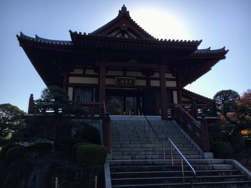 増上寺の慈雲閣