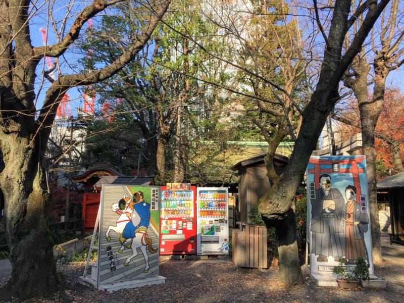 愛宕神社の写真撮影スポット