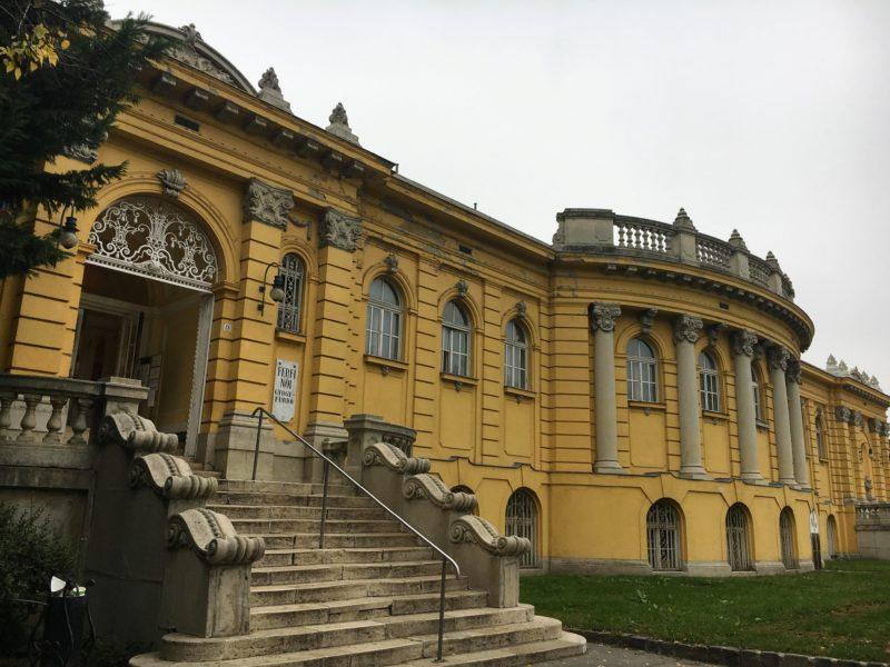 ブダペストのセーチェー二温泉