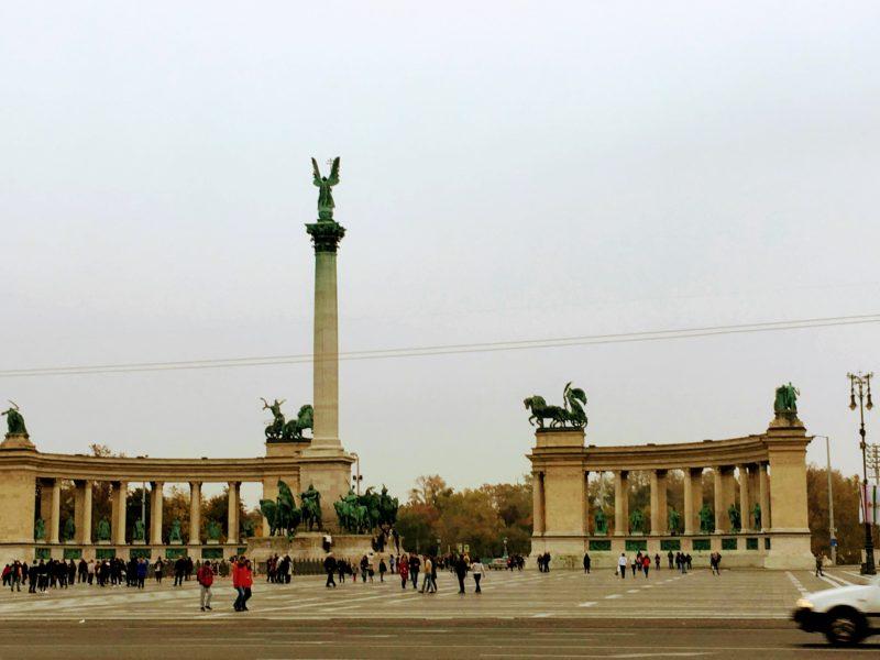 ブダペストの英雄広場