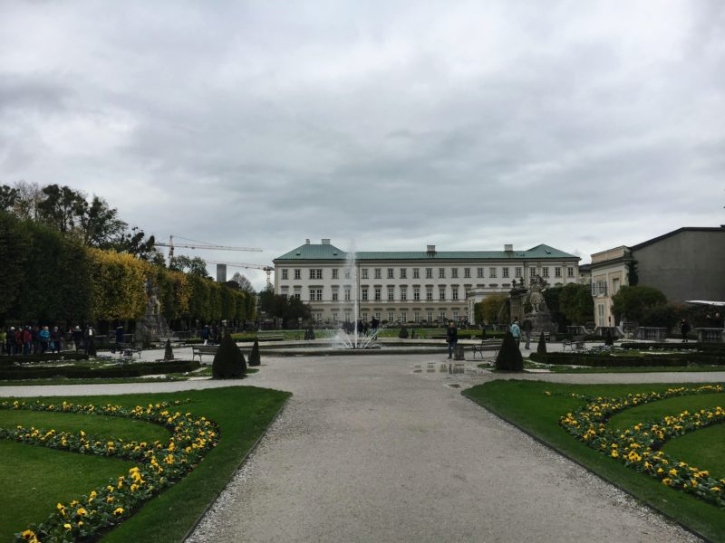 ザルツブルグのミラベル宮殿と庭園
