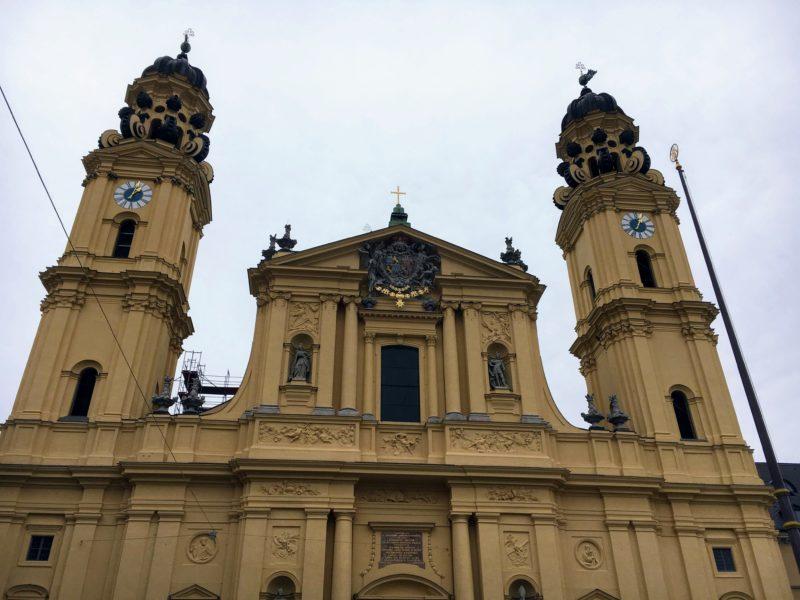 ミュンヘンのテアティナー教会