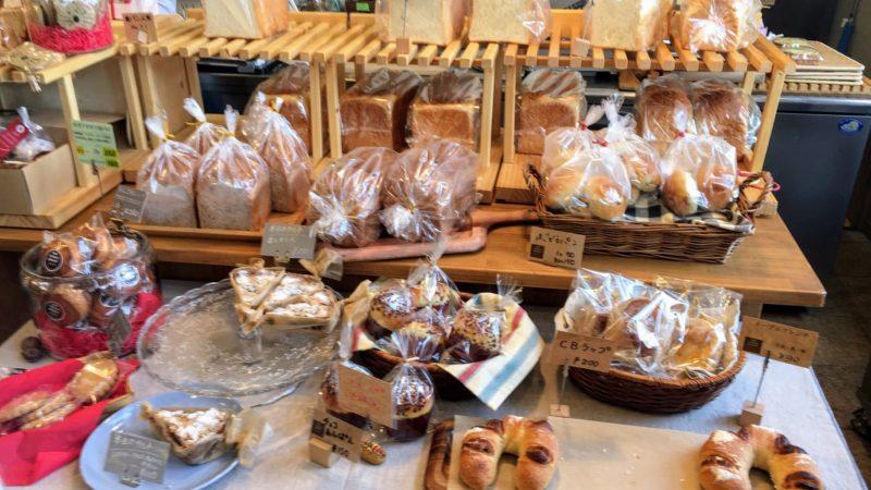 天童ハウス併設のパン屋さん