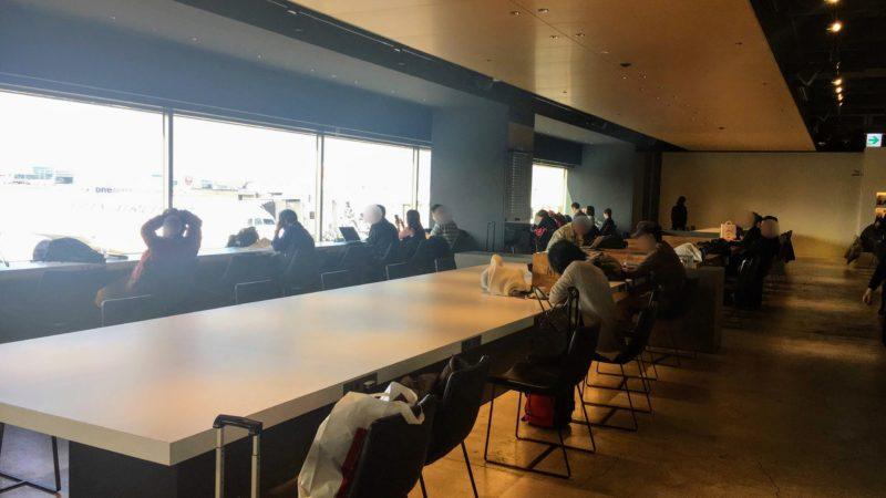 羽田空港第1ターミナルパワーラウンジサウス内