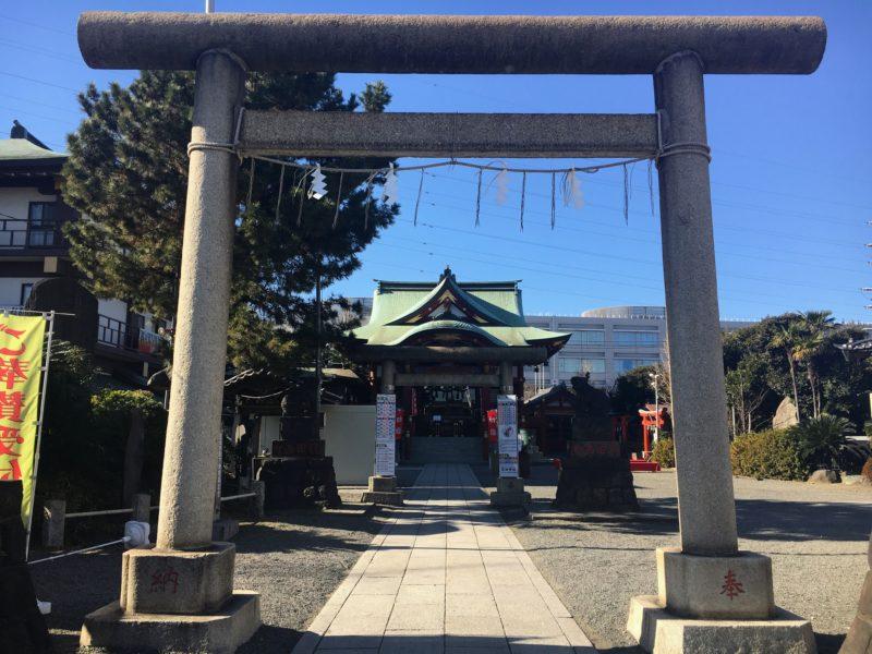 羽田神社の鳥居