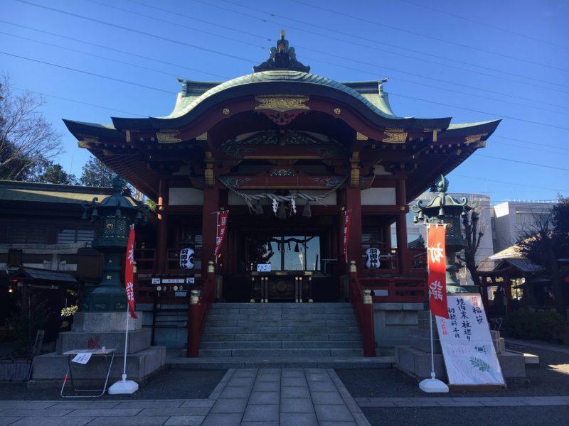 羽田神社の御社