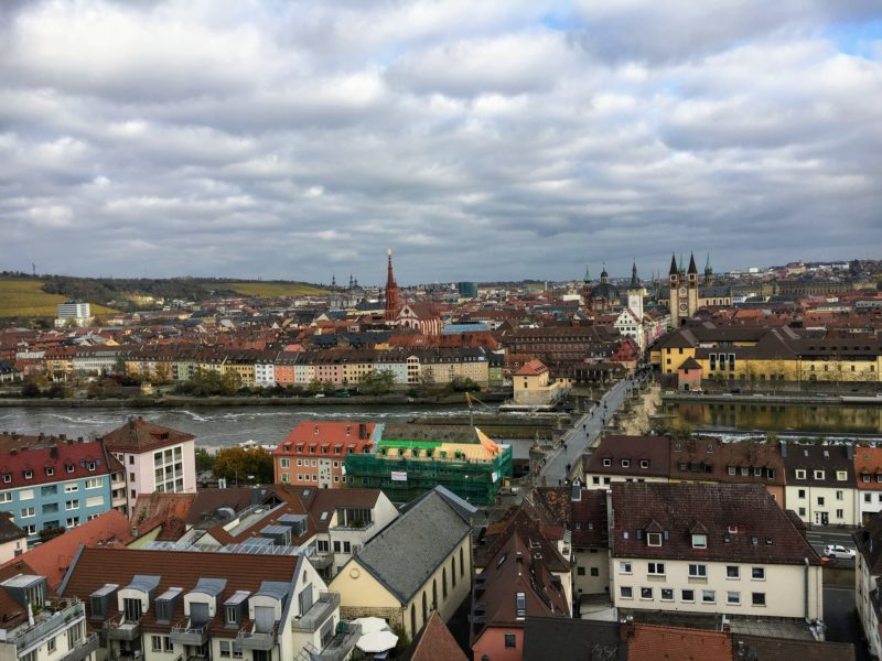ヴュルツブルクの街並み