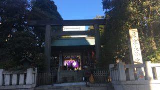 東京大神宮の門