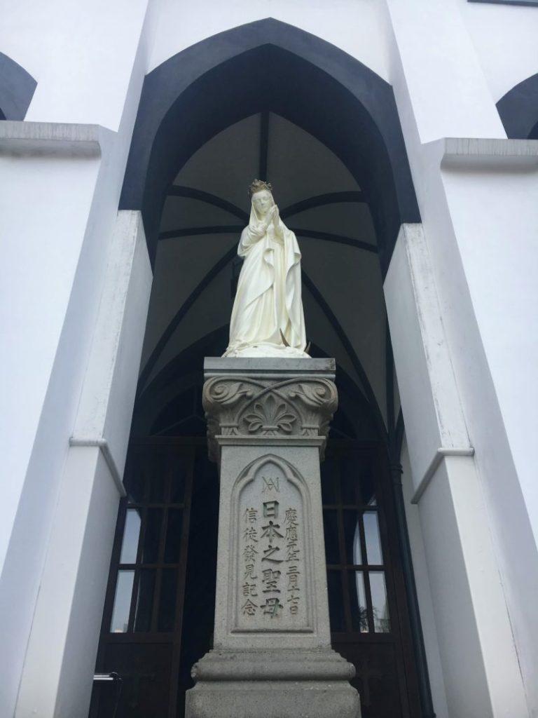 大浦天主堂の日本之聖母像