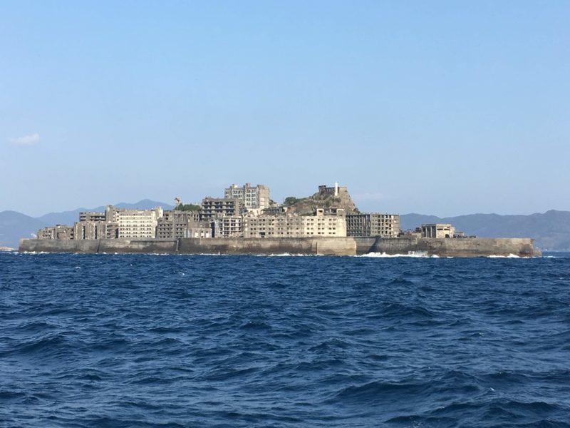 軍艦島全体像