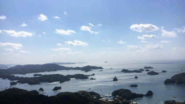 石岳展望台からの眺望