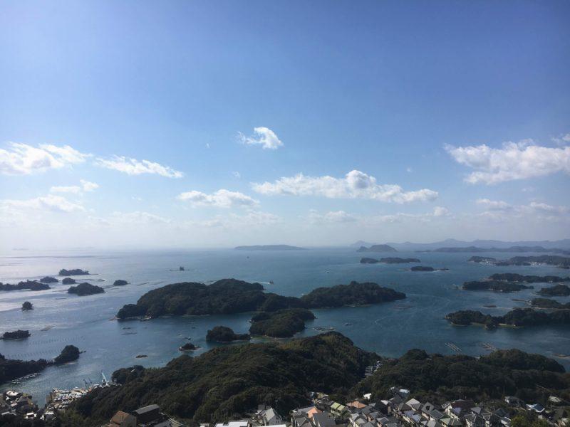 石岳展望台からの風景