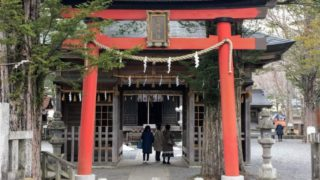 忍野八海 浅間神社の鳥居