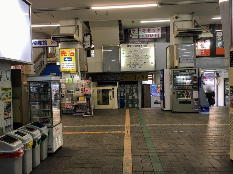 長崎県営バスターミナル内部