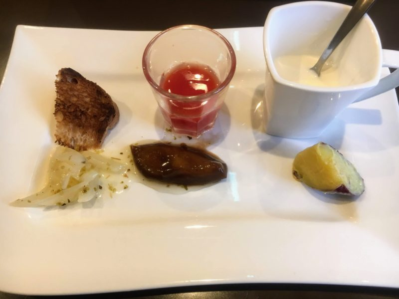 アンティカ オステリア ゴンドレッタ(Antica Osteria Gondoletta)の前菜6品盛り合わせ