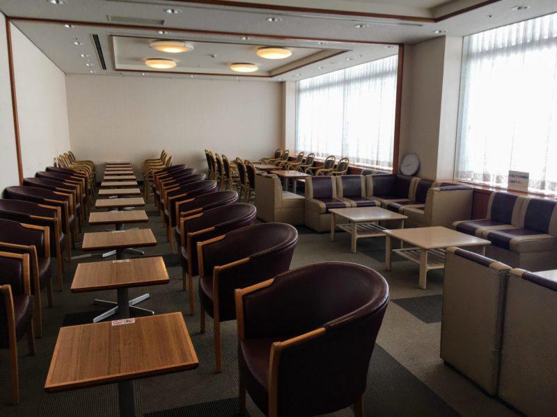成田国際空港第一ターミナルにあるビジネス&トラベルサポートセンター(TEIラウンジ)の内部