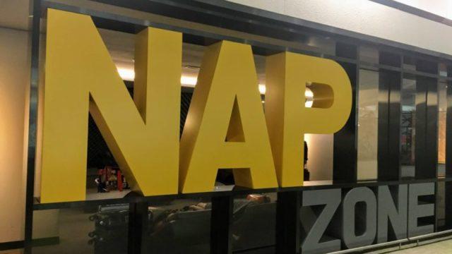 韓国仁川空港の無料仮眠スペース(NAP ZONE)